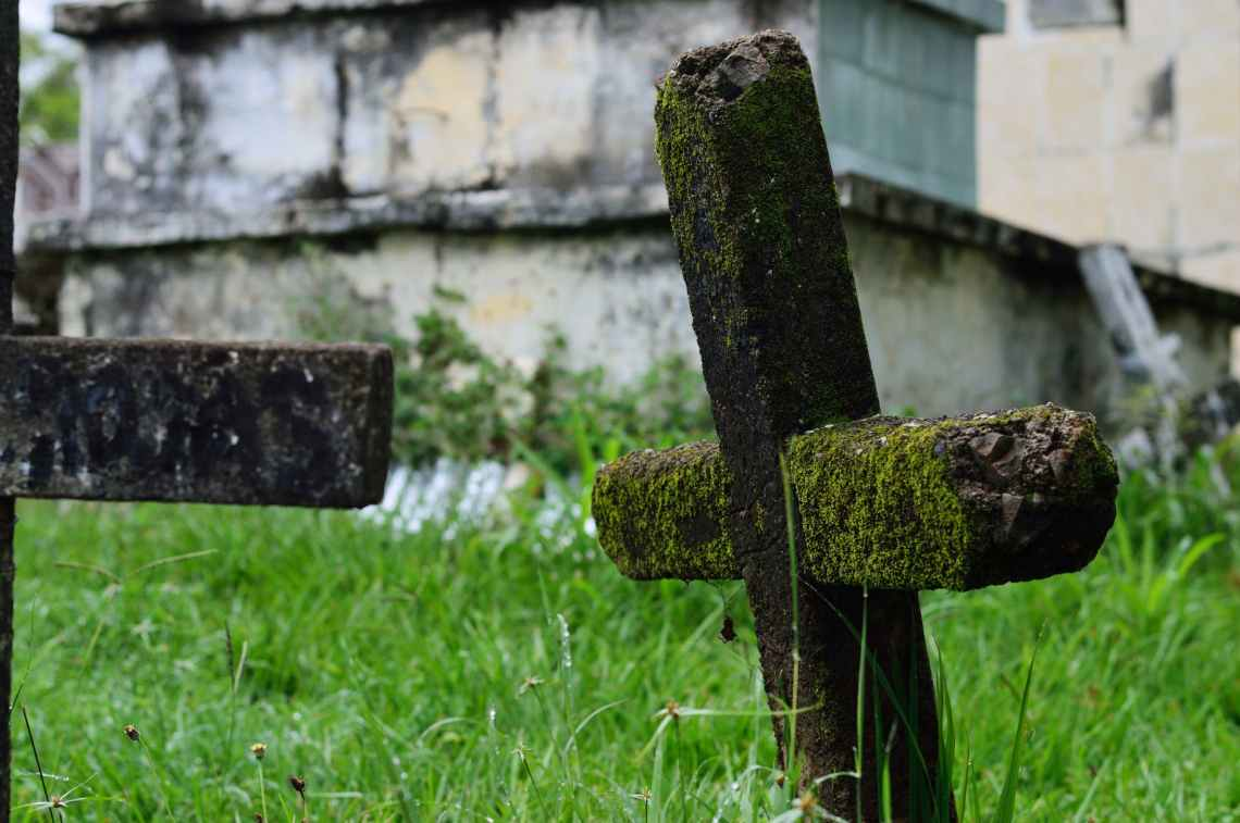 ancient burial cemetery creepy